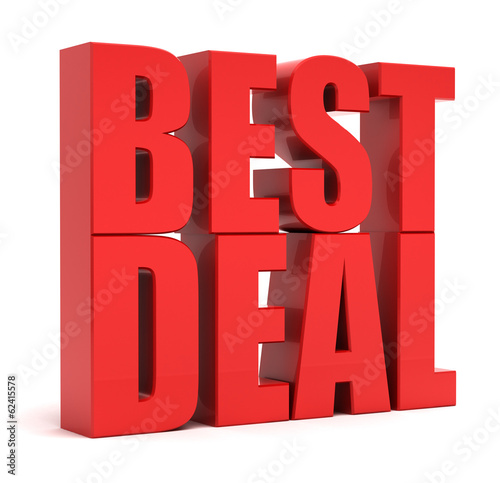 Best Deal 3d Text