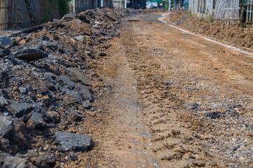 Road building