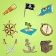 3D Iconset Piraten Cartoon