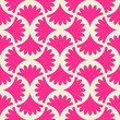 Seamless pink vector pattern