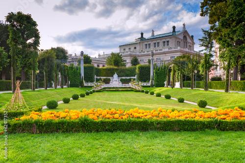 Park in Vienna Austria