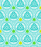 Pattern in tropical blue in hipster style
