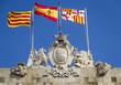 emblem of the city of Barcelona Spain