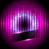 Vector Illustration of  Disco background