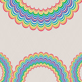 Background With Rainbow Pattern
