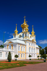The East Chapel of The Peterhof Grand Palace