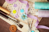 scrapbooking craft materials
