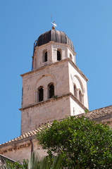 Tower of the Franciscan Monastery, Dubrovnik, Croatia