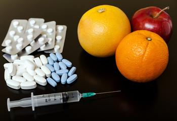 Fruits or medicine