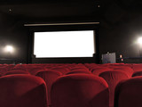 Fototapeta Salle de cinéma vide
