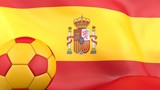 Spanish Football flag