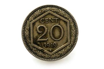 20 cent Regno d ' Italia 1919