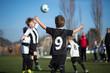 Zdjęcia na płótnie, fototapety, obrazy : Boys playing soccer