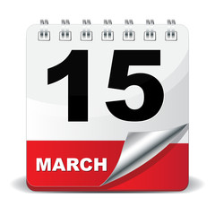 15 MARCH ICON