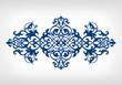 Vector vintage ornament calligraphy frame pattern