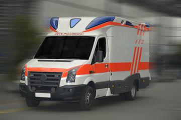 Rettungswagen - 112