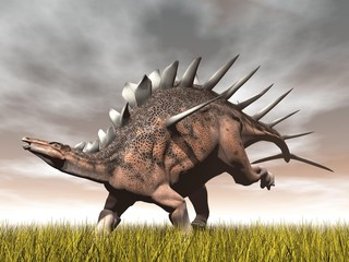 Kentrosaurus dinosaur - 3D render