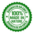 Biodegradable stamp