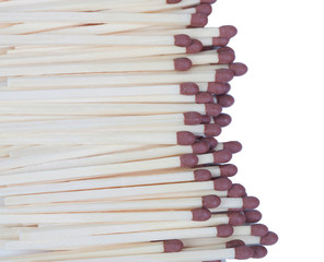 Many matches close up