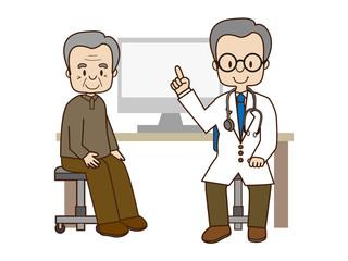 高齢者の診察