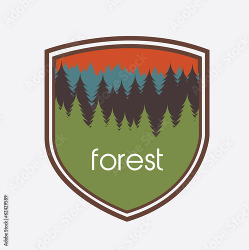 nature forest design