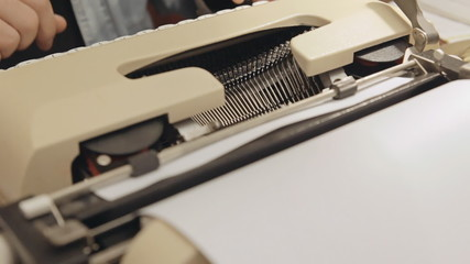 Typewriter dutch angle 2