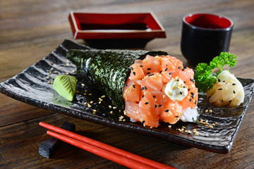 Temaki - Japanese food