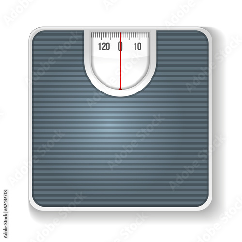 Weight Scale. Illustration on white background