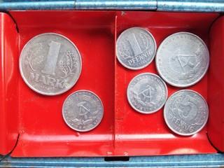 Mark und Pfennig als Währung
