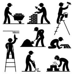 builder people icons