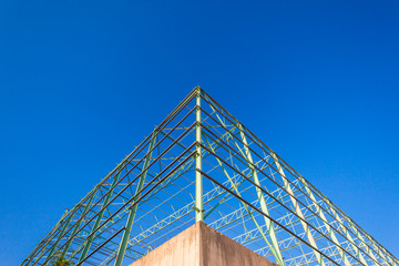 Construction Steel Frame Warehouse Building Structure