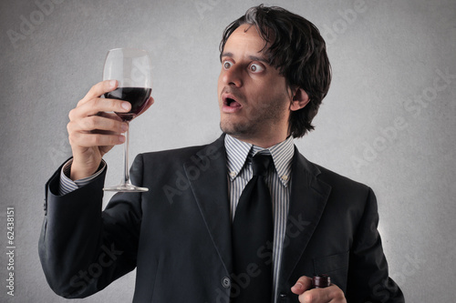 wine for businessman