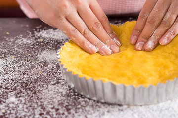 Cake preparation