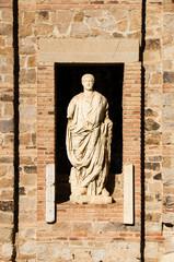 statue in Merida, Spain