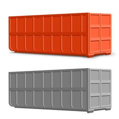Recycling - Container 40 cbm