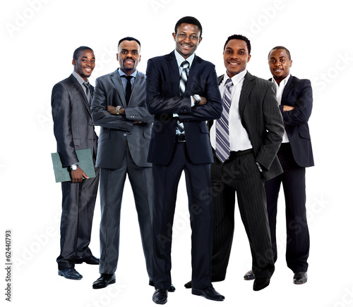 african american business team