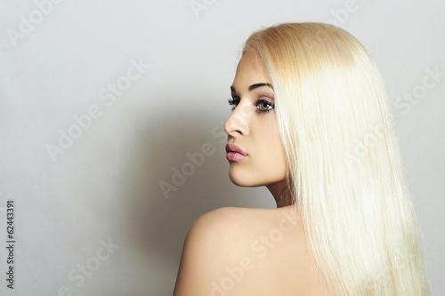 Beautiful Woman. Beauty Sexy Blond Girl