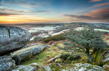 Frosty Morning at Helman Tor in Cornwall