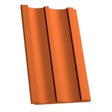 realistic 3d render of roof tile