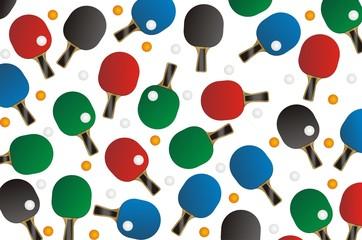 ping pong seamless pattern