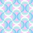 Wavy blue seamless wallpaper / textile pattern