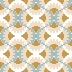 elegant wavy seamless wallpaper pattern background