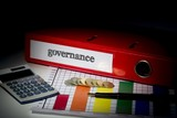 Governance on red business binder