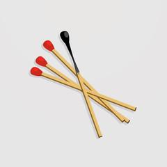 Matches set