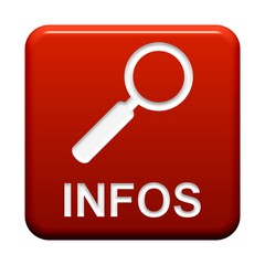 Roter Button: Lupen-Symbol Infos