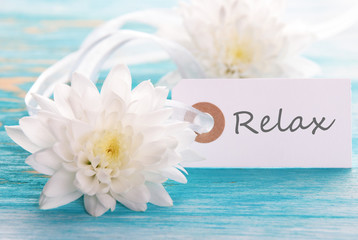 Label with Relax