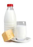 Cheese and bottle milk