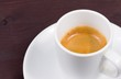 cup of italian espresso coffee
