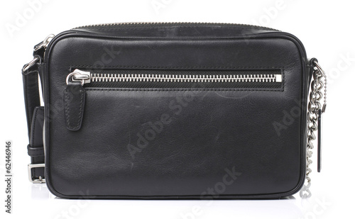 Black Purse Isolated