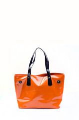 Orange women bag